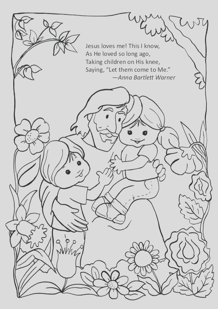 jesus love me coloring pages