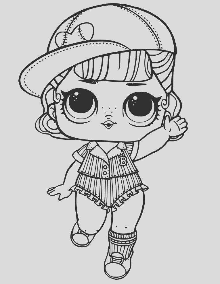 dolls printable coloring pages