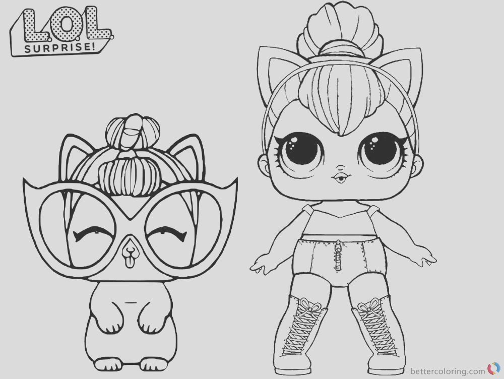 coloring pages kitty queen
