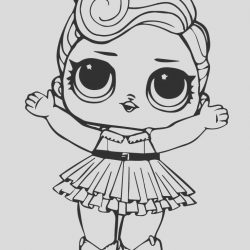 Lol Coloring Picture Inspirational Lol Doll Luxe Coloring Page