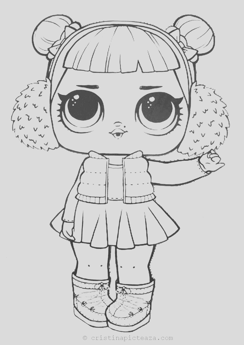 coloring pages dolls