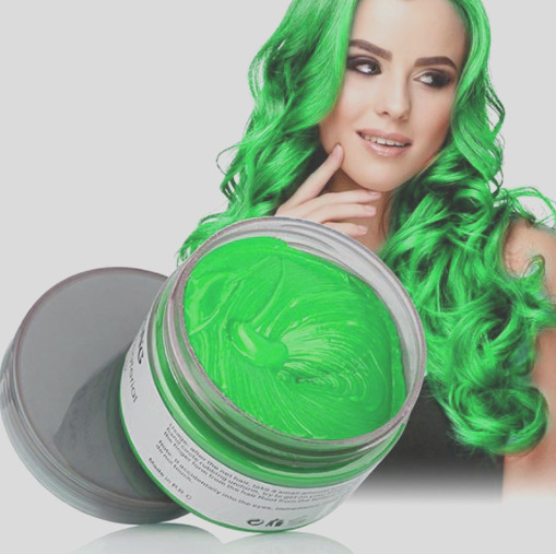 uni temporary hair dye wax