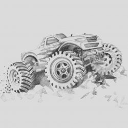 Monster Truck Coloring Page Free Fresh Free Printable Monster Truck Coloring Pages for Kids