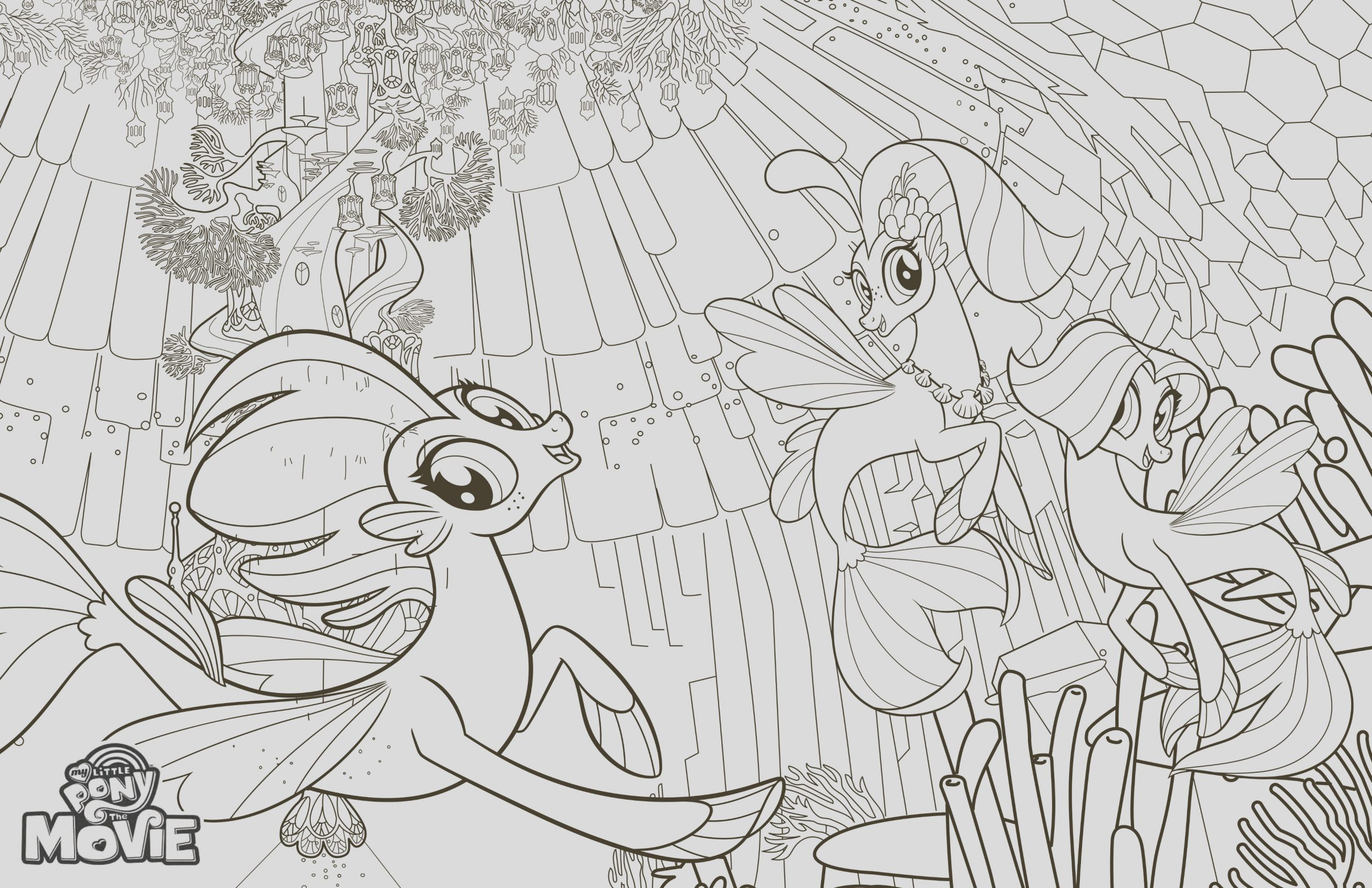 200 my little pony the movie coloring pages