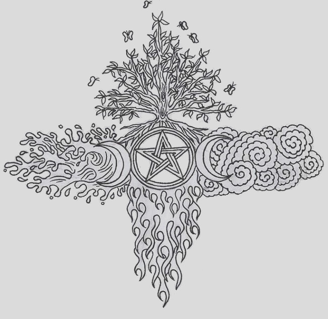 pagan coloring pages for adults sketch templates