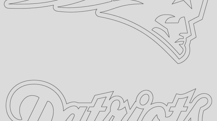 Patriots Logo Coloring Page Awesome New England Patriots Logo Coloring Page