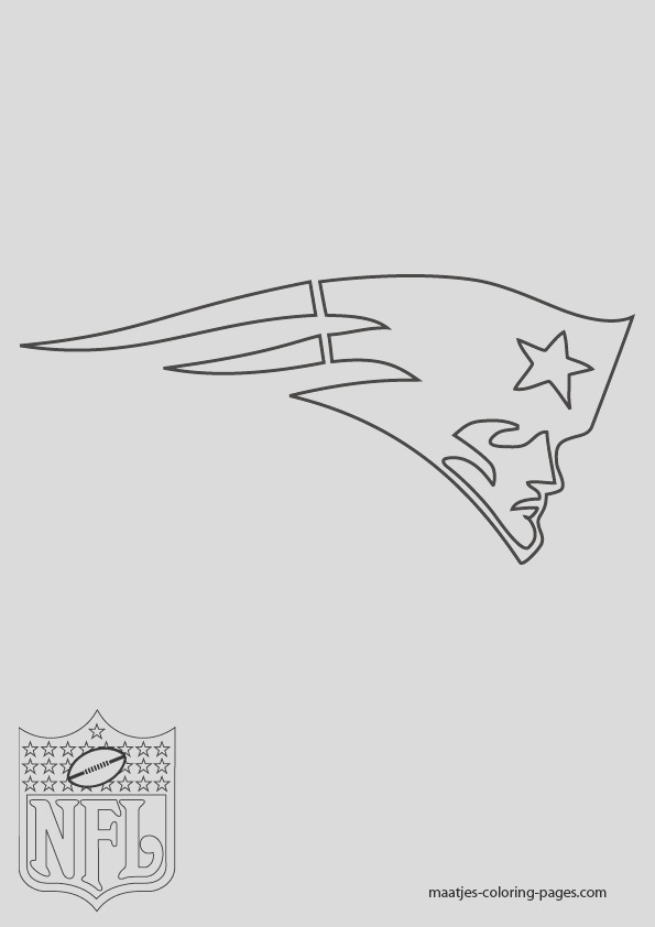 new england patriots nfl coloring pages 01