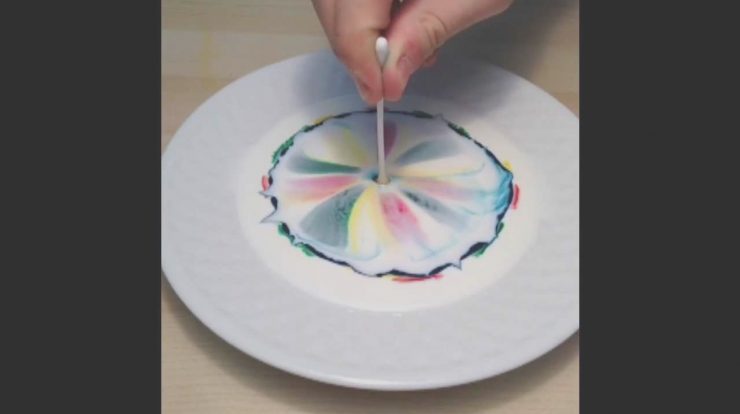 Soap Milk and Food Coloring Inspirational What Happens when You Bine Milk Food Coloring and Dish
