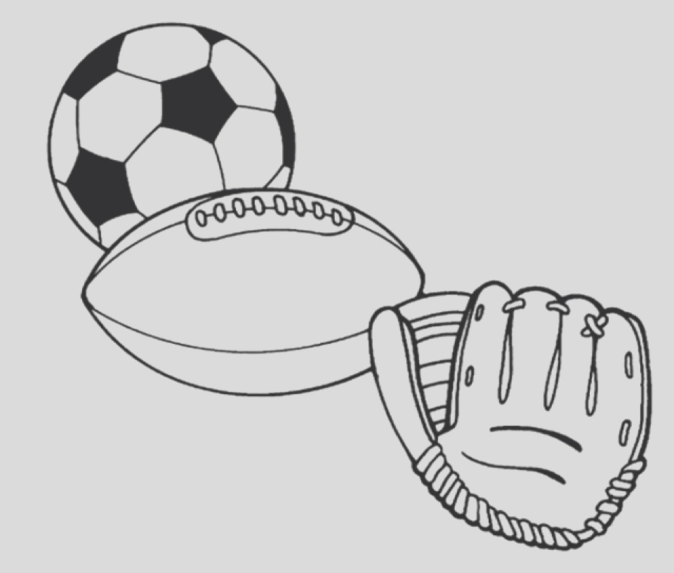 free sports coloring pages civxm