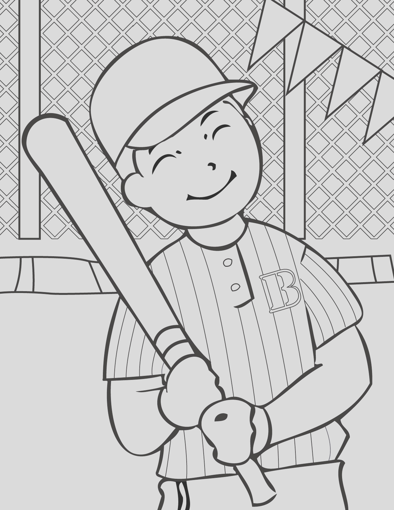 printable sports coloring pages for kids free printable coloring sheets 5 2