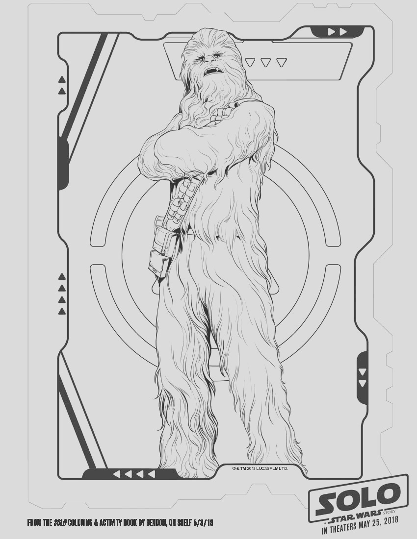 solo a star wars story coloring pages