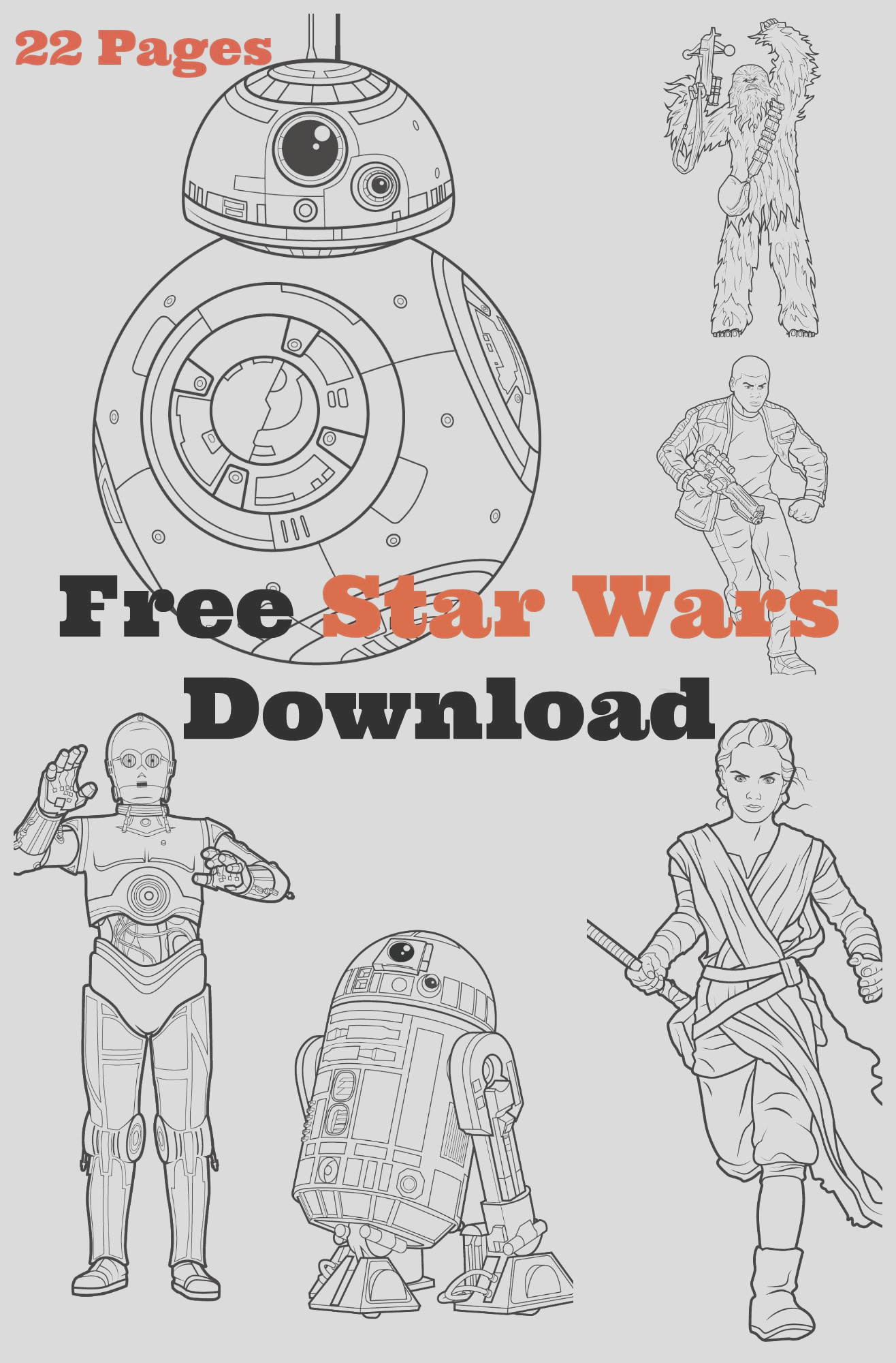 mega star wars free coloring activity kit here