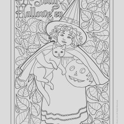 Adult Coloring Halloween Inspirational Antique Clapsaddle Adult Coloring Page Free