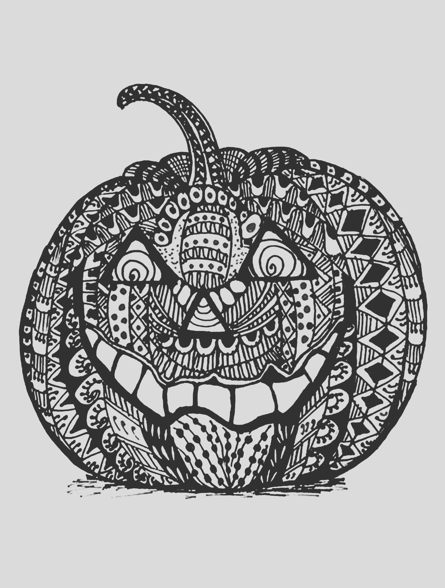 halloween adult coloring pages image=events halloween coloring adult halloween zentangle pumpkin 1