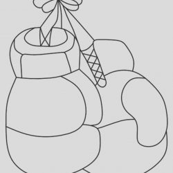 Boxing Glove Coloring Page Fresh top 10 Boxing Coloring Pages for Your Naughty Kid