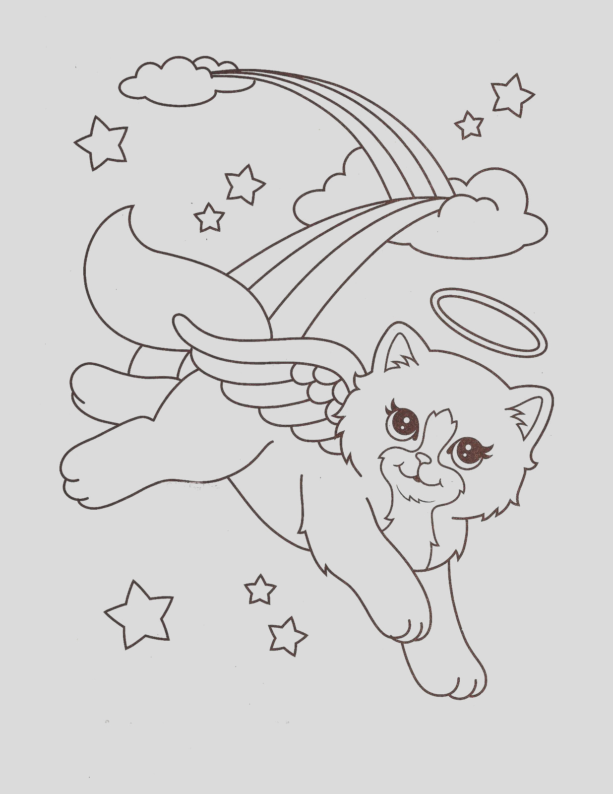 printable lisa frank coloring pages free
