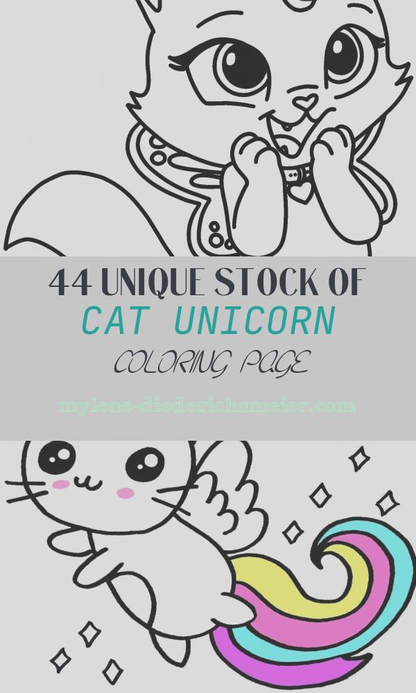 44 Unique Stock Of Cat Unicorn Coloring Page - Coloring Pages