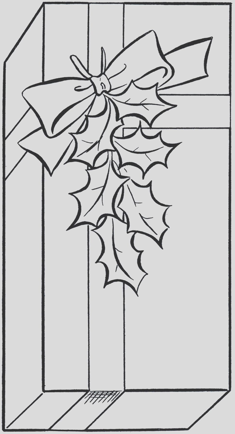 holiday t clip art image coloring page