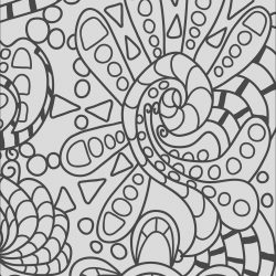 Color Art Coloring Page Elegant Abstract Doodle Coloring Page