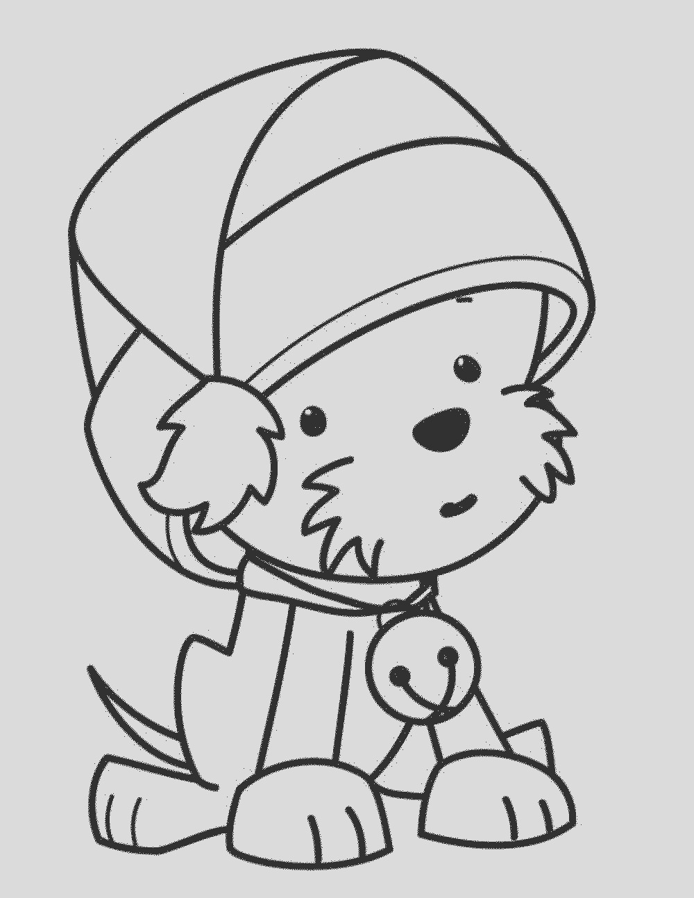 biscuit the puppy coloring pages