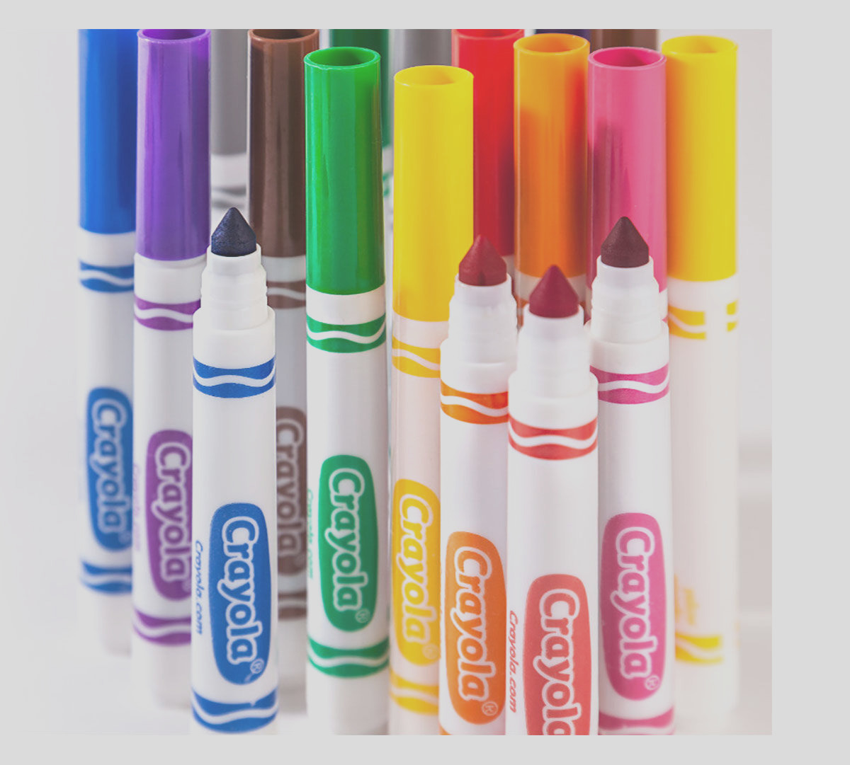 broad line markers classic colors 10 ct