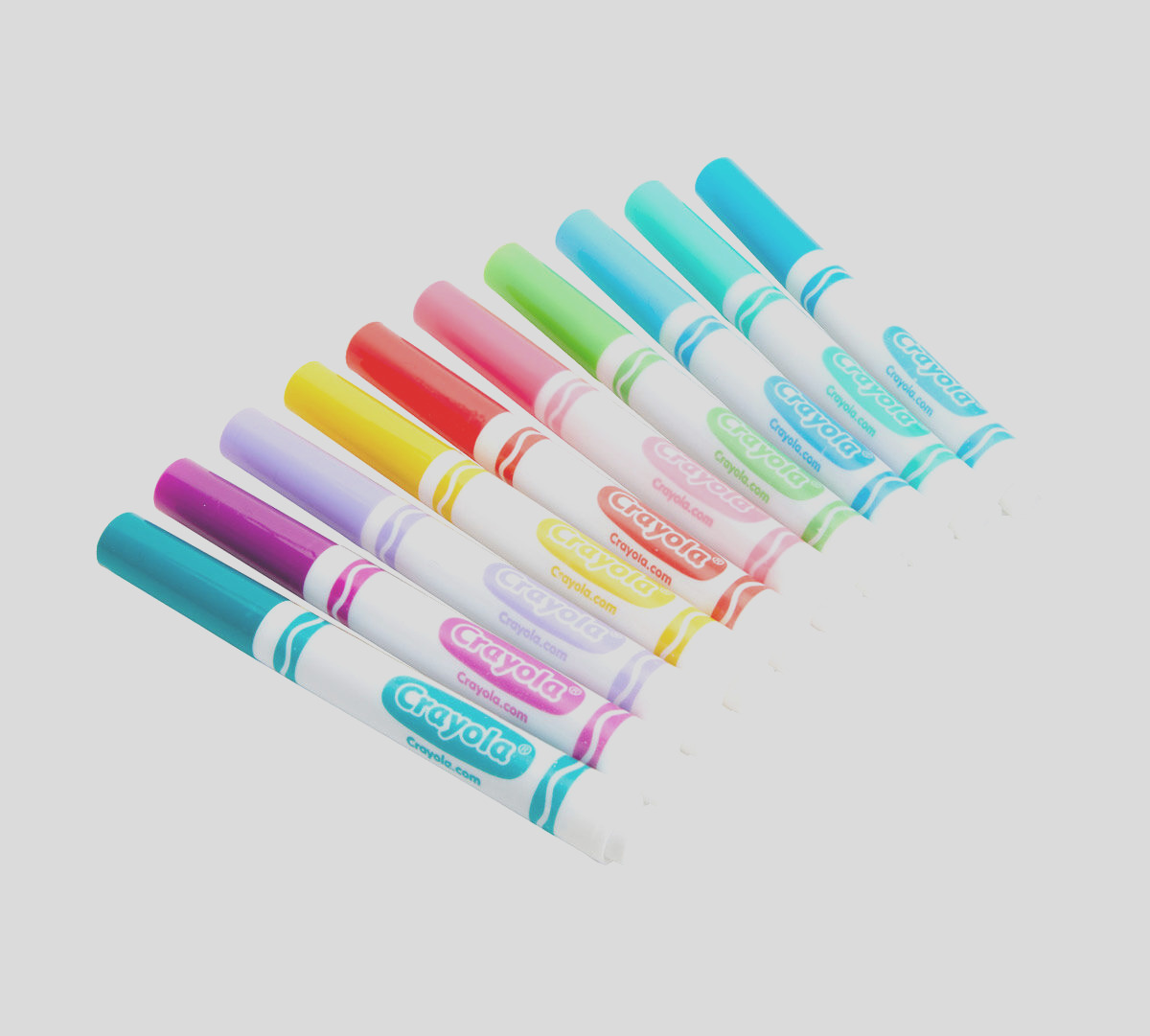 broad line markers bold and bright colors 10 count