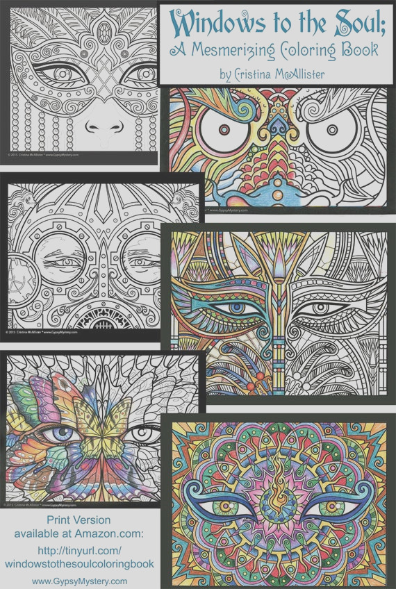 windows to the soul coloring book