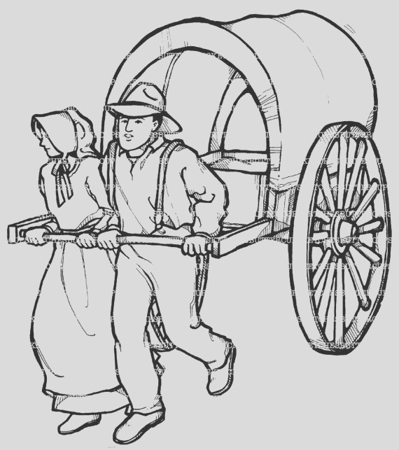 lds pioneer coloring pages