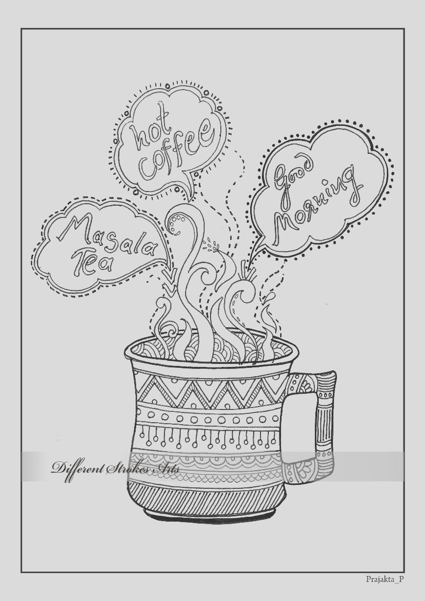 coloring page adult coloring page