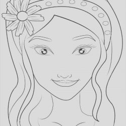 Girl Faces Coloring Page Luxury 9 Face Coloring Pages Jpg Ai Illustrator Download