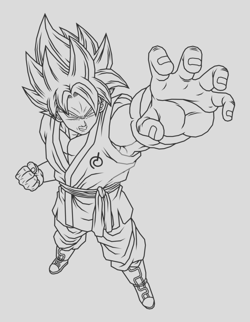 u2w7o0r5o0q8y3y3 big goku super saiyan 1 coloring pages goku