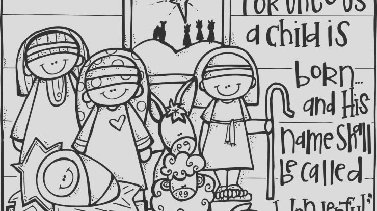 Jesus Christmas Coloring Page Fresh Jesus Coloring Pages Pdf Coloring Innovative Nativity