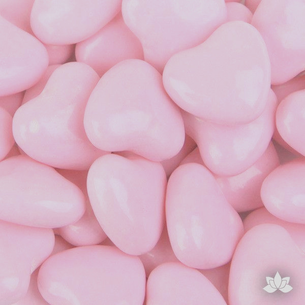 light pink candy hearts