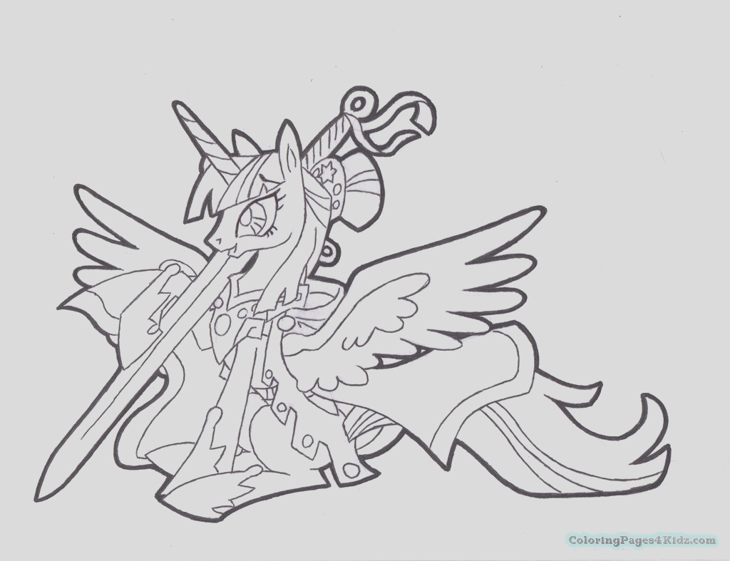 my little pony twilight sparkle coloring pages 1015