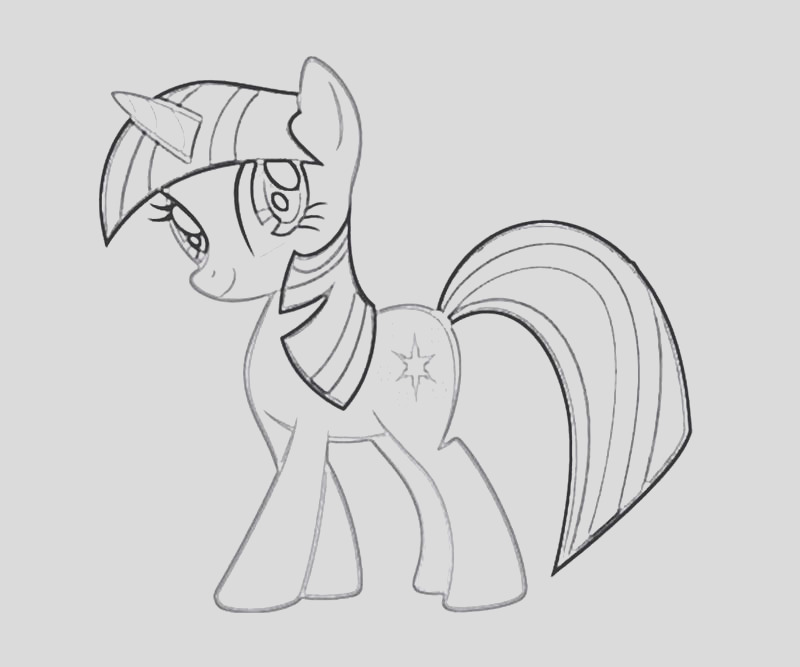 twilight sparkle alicorn coloring pages