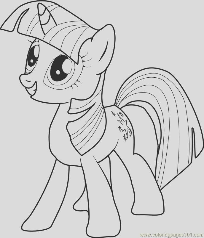 twilight sparkle coloring page