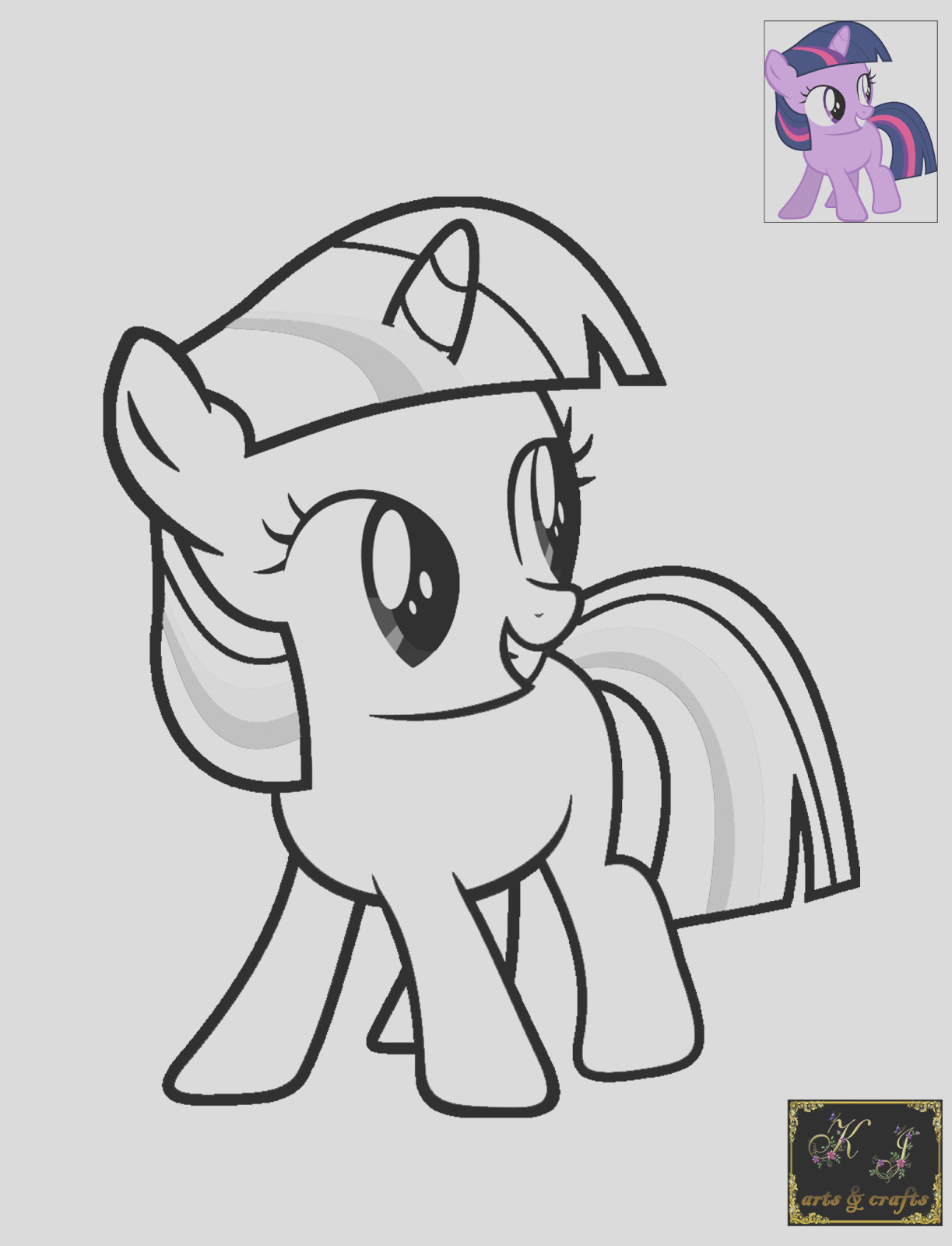 filly coloring pages