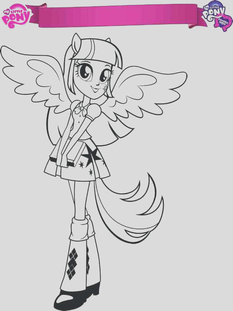 twilight pony coloring pages