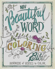 niv beautiful word coloring bible book review