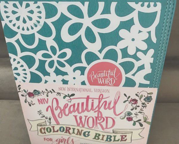 niv beautiful word coloring bible girls