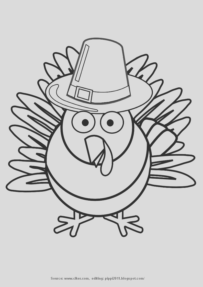 thanksgiving day printable coloring pages