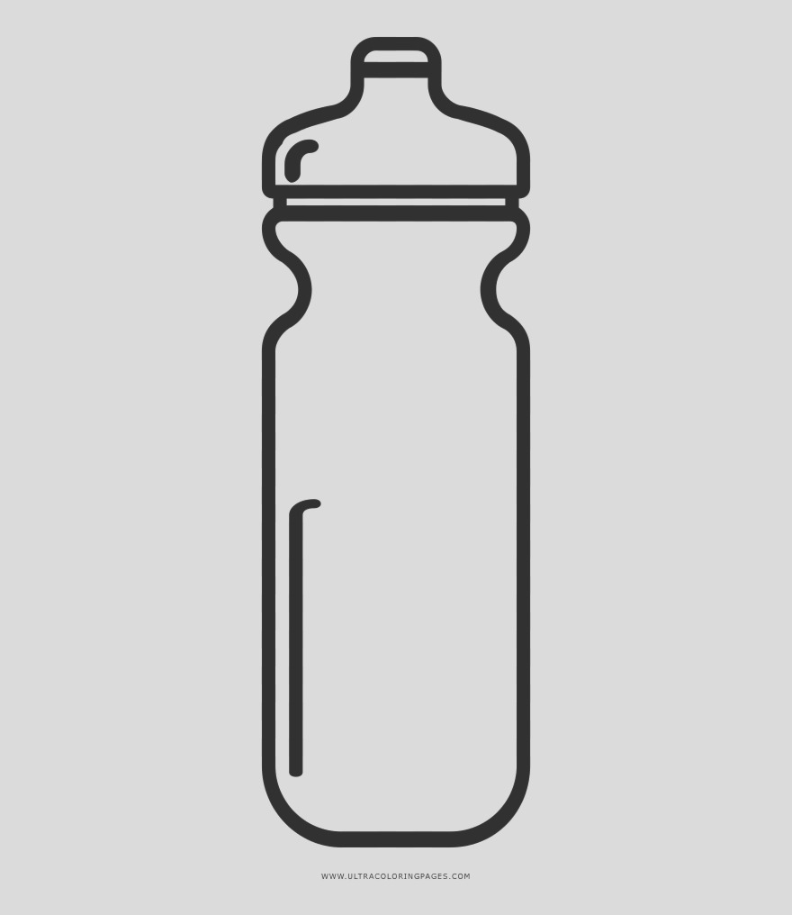 iRoRbbR shaker coloring page black and white water bottle