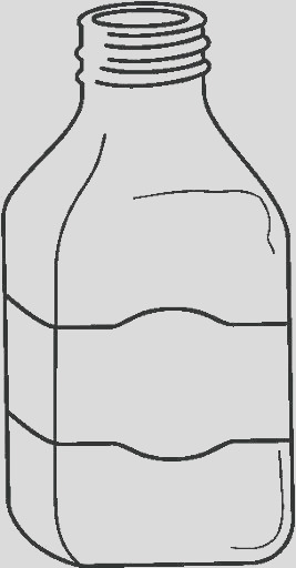 bottle coloring page