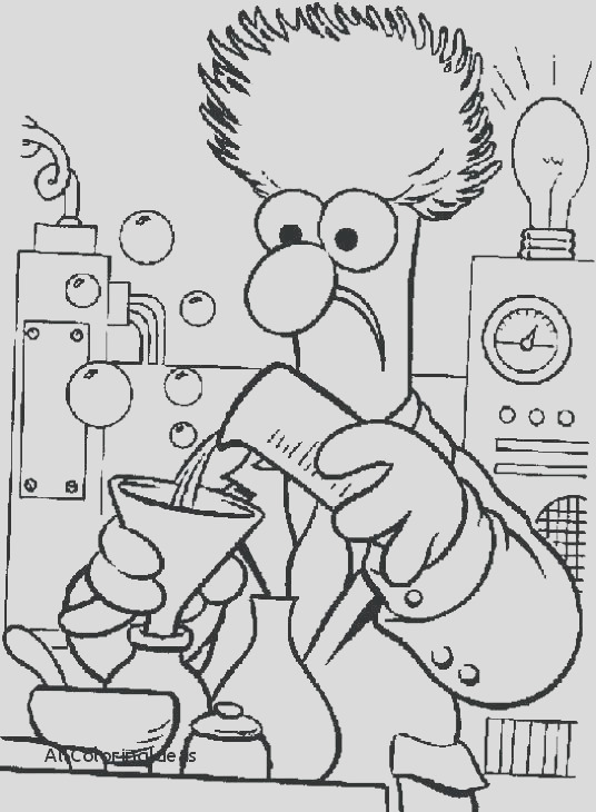 science beaker coloring pages