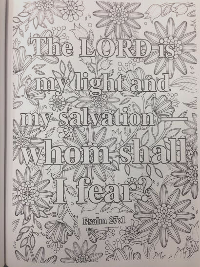 a devotional coloring book