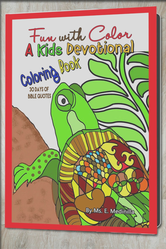 devotional coloring book kids bible quotes