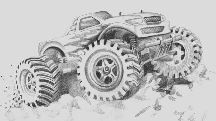 Free Printable Monster Truck Coloring Page Fresh Free Printable Monster Truck Coloring Pages for Kids