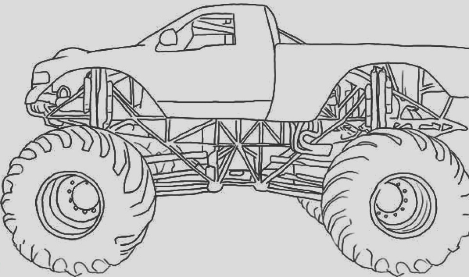 madusa monster trucks pages sketch templates