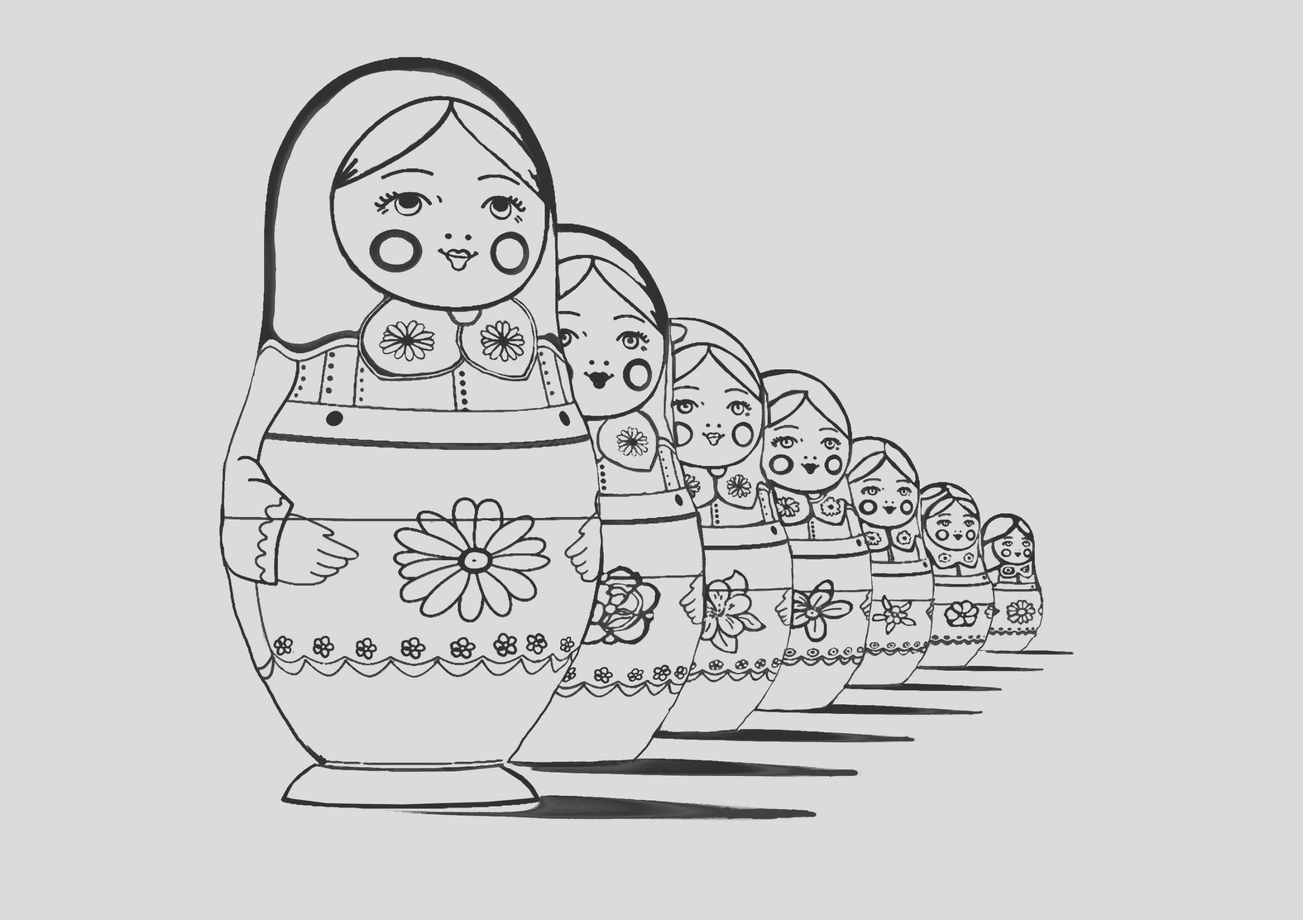 image=russian dolls coloring page adult russian dolls perspective 1