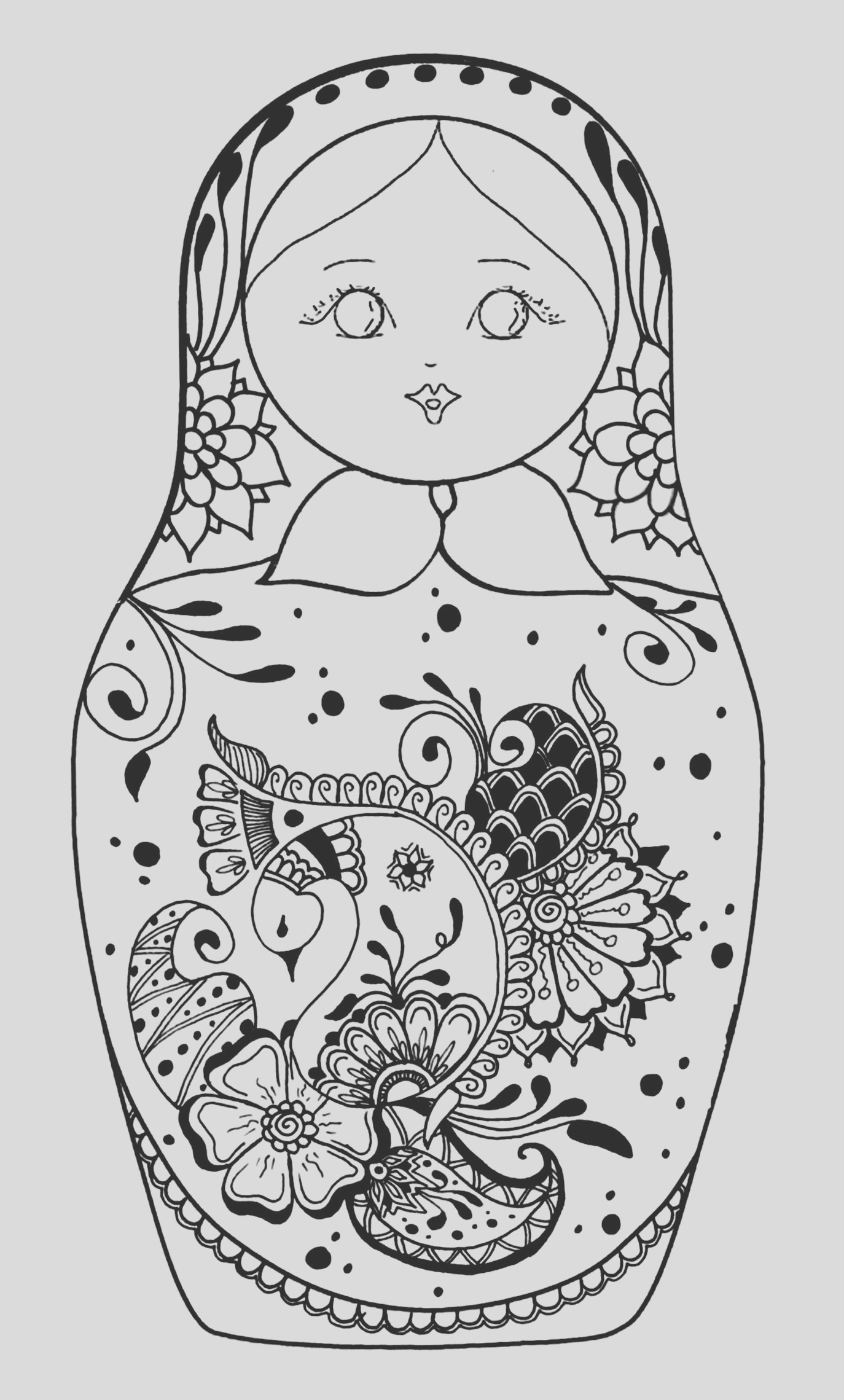 image=russian dolls coloring russian dolls 5 1